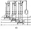 Принципиальные электрические схемы включения трехфазного трехэлементного...