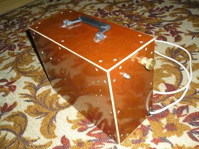 ФИНАЛЬНЫЙ ВАРИАНТ В СТАТЬЕ: Осциллятор для сварочного аппарата от Nexor.  Внешний вид осциллятора (чтобы открыть.