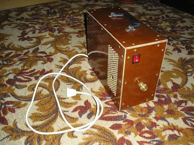 Вид осциллятора спереди