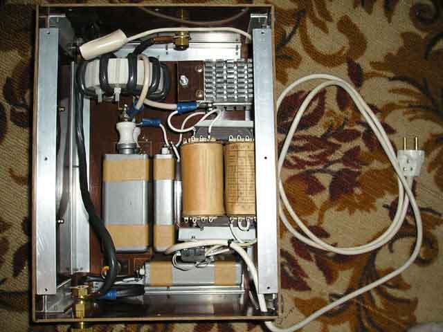Вид осциллятора внутри
